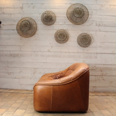 Vintage leather sofa 1960