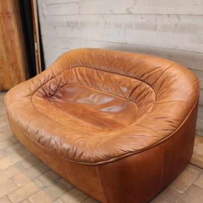 Canapé vintage en cuir 1960