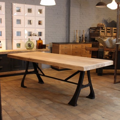 Industrial table french