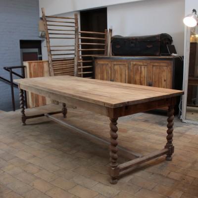 Table en chêne