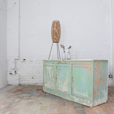 Wooden French buffet 1950