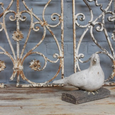 French dove in cement