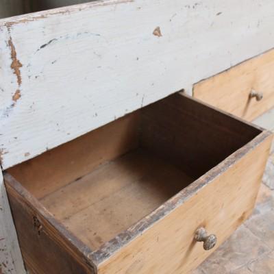 Ancien meuble d'épicerie