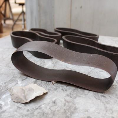 Anciennes formes à chaussure en fonte