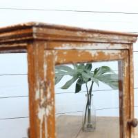 Ancienne vitrine de commerce