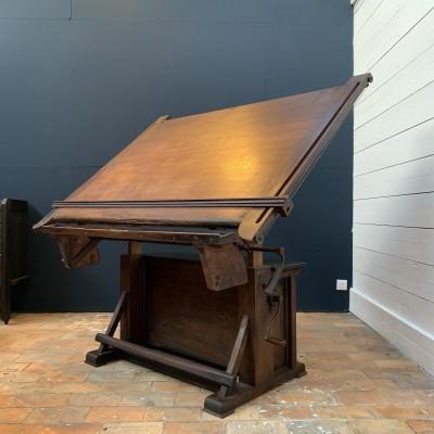 Architect table circa 1900