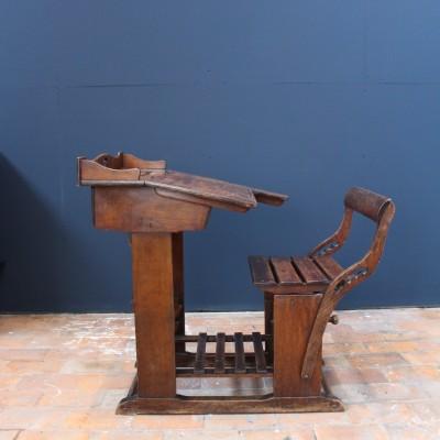 Wooden school desk 1900