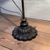 Ancienne lampe de bureau Holophane
