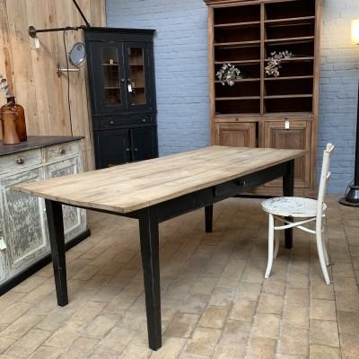 Table en chêne 1930 ancienne table de ferme