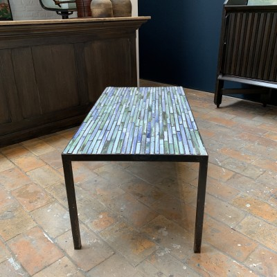 Vintage tiled coffee table 1960