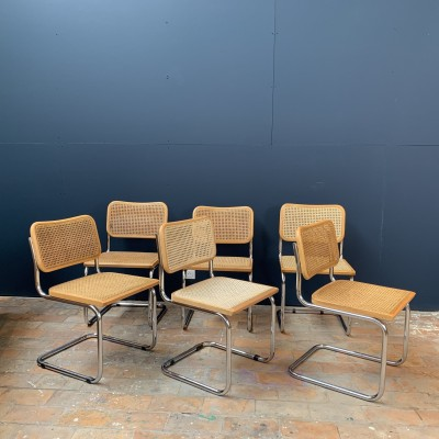 Set of 6 chairs Marcel Breuer 1970