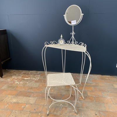 Dressing table and stool 1950