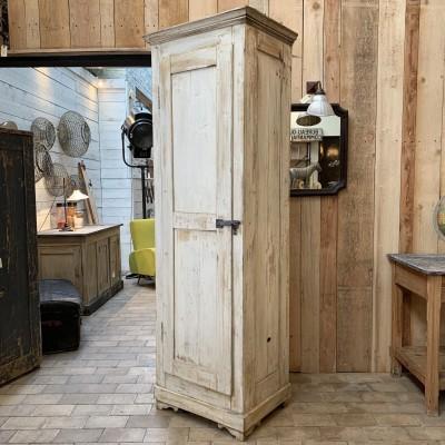 Ancienne armoire d'atelier industrielle vintage