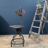 French Flambo workshop chair C.1950