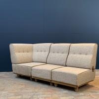 "Lounge chair Guillerme & Chambron ""ELMYRE"""
