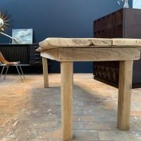 Elm wood table circa 1960