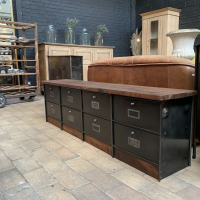 Former 1960 low wall cabinet