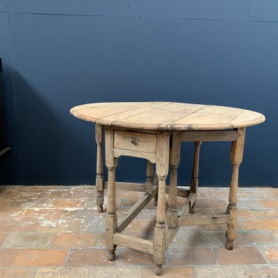 French wooden table