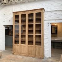 Large oak library 1930