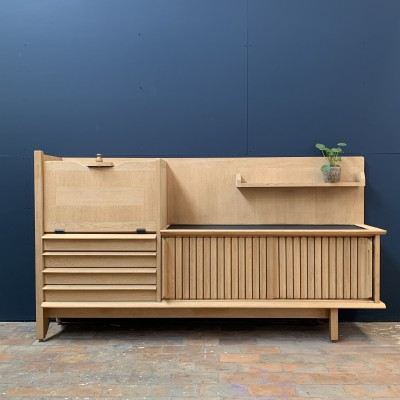 "Sideboard Guillerme & Chambron 1960 for ""VOTRE MAISON""."