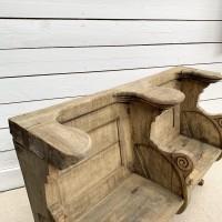Oak bench circa 1880