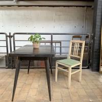 Tolix metal table