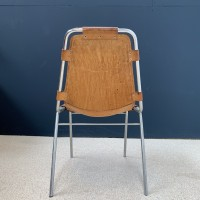Chaise les Arcs par Charlotte Perriand 1960