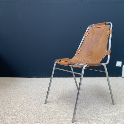 Chair Les Arcs by Charlotte Perriand 1960 French design