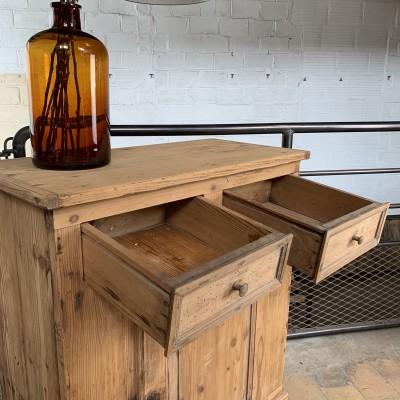Former wooden buffet
