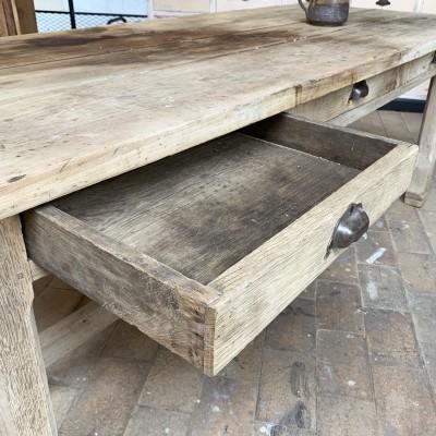 Oak french farmhouse table