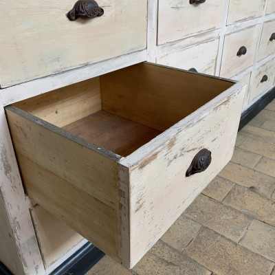 Former drawer cabinet french antique