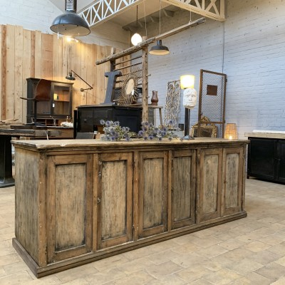 French Wooden workshop furniture