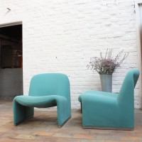 Pair of ALKY armchairs by Giancarlo