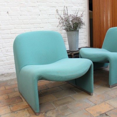 Pair of ALKY armchairs by Giancarlo Piretti
