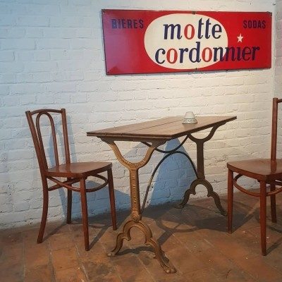 Former bistro table.
