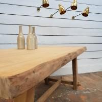 Brutalist dining table