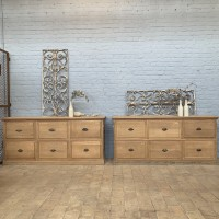 Pair of shop furniture circa 1930