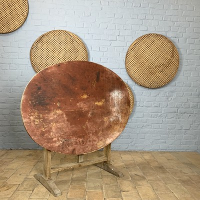 Folding wooden table French