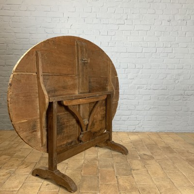 Folding wooden table 1900