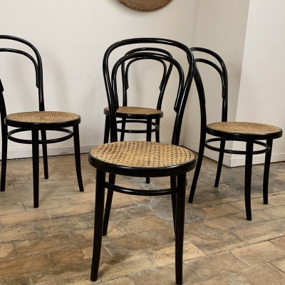 French Thonet chairs