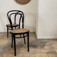 Anciennes chaises Thonet