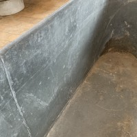 French Zinc Bathtub