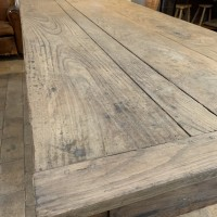 Wooden french farm table