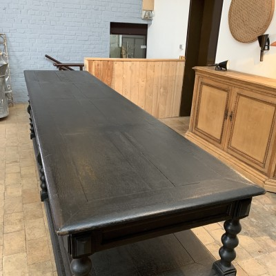 French draper table circa 1880