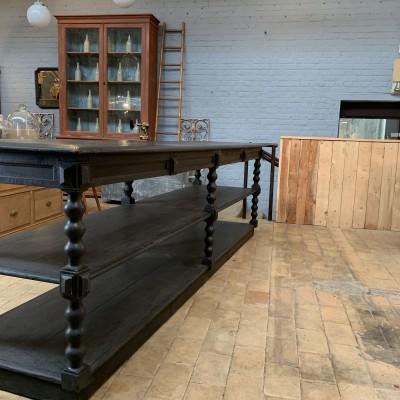 French draper table circa 1880