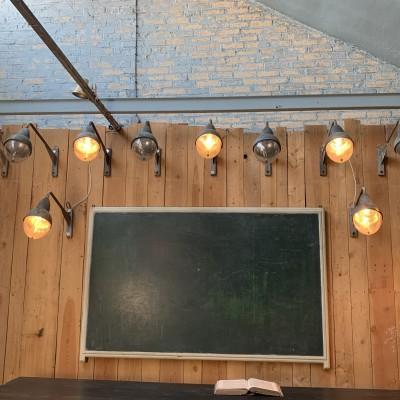Holophane wall lamp