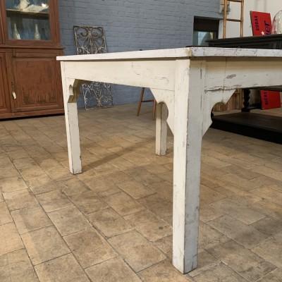 Wooden workshop table