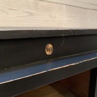 Ancien meuble d'atelier en bois industrielle