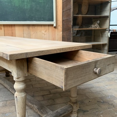 Oak monastery table