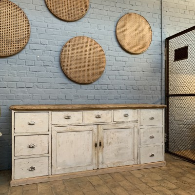 Wooden bakery furniture